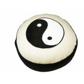 Meditatiekussen Yin Yang wit/zwart | 8012
