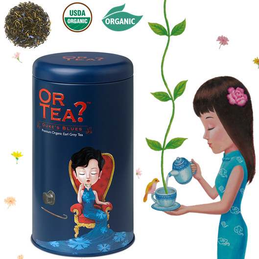 Or Tea Duke's Blues zwarte thee Earl Grey los BIO