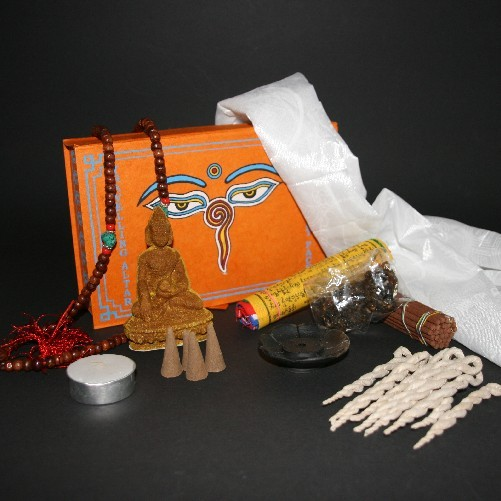 Tibetan Travelling Altar, Incense gift pack